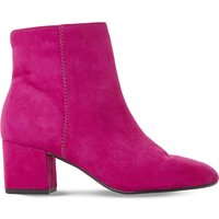 Dune Ladies Pink Olyvea Suede Ankle Boots