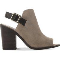 Steve Madden Tallen suede shoe boots, Women's, Size: EUR 41 / 8 UK, Grey-suede