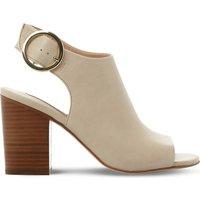 Steve Madden Etta leather sandals, Women's, Size: EUR 41 / 8 UK WOMEN, Natural-leather