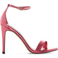 Steve Madden Stecy metallic faux-leather sandals, Women's, Size: EUR 36 / 3 UK WOMEN, Fuschia-metallic