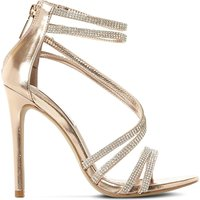 Sweetest embellished heeled sandals