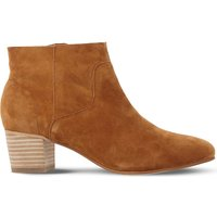 Steve Madden Allday suede western ankle boots, Women's, Size: EUR 37 / 4 UK WOMEN, Tan-suede