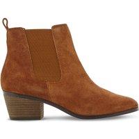 Steve Madden Radley SM suede Chelsea boots, Women's, Size: EUR 37 / 4 UK WOMEN, Tan-suede