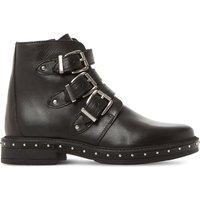 Matika buckled biker boots