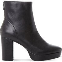 Steve Madden Peace SM leather ankle boot, Women's, Size: EUR 40 / 7 UK WOMEN, Black-leather