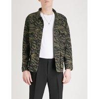 伪装-模式 棉 领域 夹克