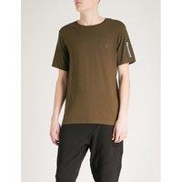 压缩-口袋 棉-混合 吨-衬衫