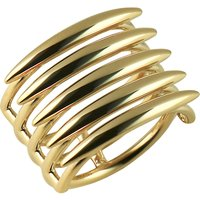 Shaun Leane Quill Gold vermeil sterling silver ring (small), Size: K, silver