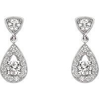 CHAUMET   Chaumet Joséphine 18ct white-gold diamond earrings, white   Goxip