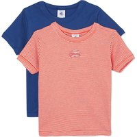 Petit Bateau Pack of two t-shirts 2-12 years, Size: 10 years, Multicolor