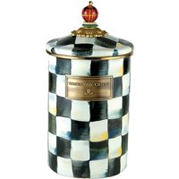 Courtly Check ceramic large canister