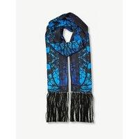 Wategoes silk-twill scarf