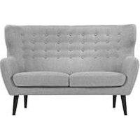 Kubrick 2 Seater Sofa, Pearl Grey