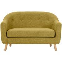 Lottie 2 Seater Sofa, Olive Green