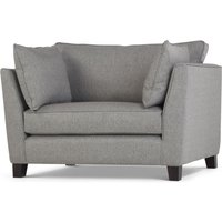 Wolseley Love seat, Herringbone Marl Grey