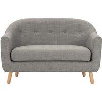 Lottie 2 Seater Sofa, Chalk Grey
