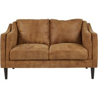 Ashwell 2 Seater Sofa, Outback Tan Leather