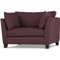 Wolseley Love seat, Herringbone Amethyst