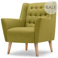 Quentin Armchair, Lemongrass Green