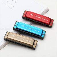 10 Holes 20 Tones Harmonica Blues Harp For Adults Beginners Key Of C