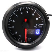 B4083 2 inch LCD Electrical GAUGE Tachometer for Car