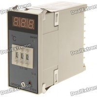 E5EN YR40K 3-Digit LED Digital Temperature Controller Thermostat (AC 220V)