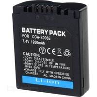 New Battery for Panasonic CGR-S006E/S006 DMC-FZ8 DMC-FZ18 FZ30 DMC-FZ38