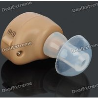 Wireless Hearing Aid Sound Amplifier - Khaki (1*AG3)
