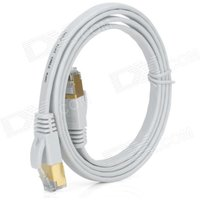 gold-plated-cat7-rj45-10gbps-high-speed-ultra-flat-lan-network-cable-white-1m