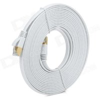gold-plated-cat7-rj45-10gbps-high-speed-ultra-flat-lan-network-cable-white-5m