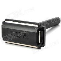 cloud-plastic-stainless-steel-manual-shaver-razor-black