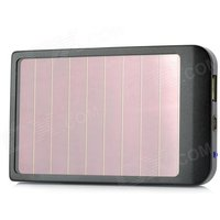 p1100-solar-powered-2600mah-external-battery-pack-w-adapters-for-cell-phone-more-black