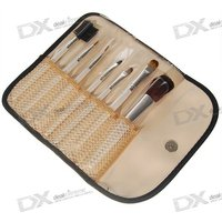trendy-professional-make-up-brushes-case-7-piece-set