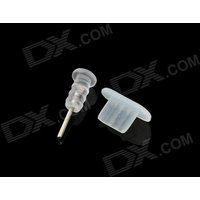 anti-dust-plug-sim-card-extraction-pin-for-iphone-5-translucent