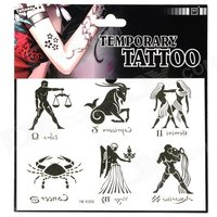 ym-k008-fashionable-free-man-pattern-tattoo-paper-sticker-black