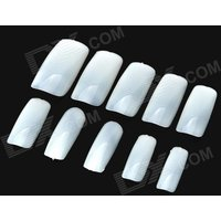 bk3510-500-in-1-full-blank-abs-artificial-nail-set-white-10-x-50