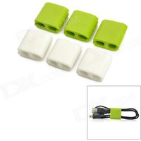 cc-923-cable-cord-wire-holder-wire-winders-organizers-green-white-6-pcs