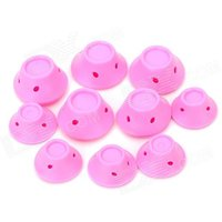 fashion-folding-soft-silicone-hair-curler-roller-pink-10-pcs
