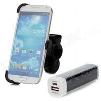 bike-mount-holder-3200mah-rechargeable-power-bank-for-samsung-galaxy-s4-i9500-black