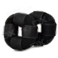 nylon-hairdressing-bud-head-hair-maker-donuts-black-2-pcs