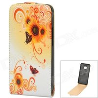 stylish-butterfly-flower-pattern-protective-pu-leather-case-for-htc-one-m7-white-orange