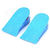 dual-layer-height-increasing-cloth-rubber-insole-blue-red-pair
