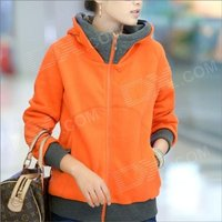 hy2416-new-winter-women-thicken-zipper-hooded-fleece-jacket-orange-size-xl