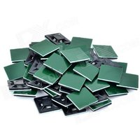 tm-20-cable-wire-management-mounts-w-adhesive-tape-black-green-50-pcs