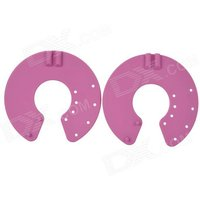 acupuncture-slimming-digital-therapy-massager-breast-electrode-pads-deep-pink-black-2-pcs