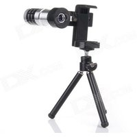 mt080-universal-12x-telescope-for-mobile-phone-silver-black