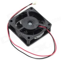 maitech-dc-12v-015a-6cm-2-wire-drive-ball-bearing-cooling-fan-black