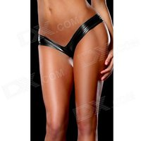 womens-hot-sexy-metallic-spandex-panty-thong-lingerrie-underwear-black