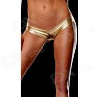 womens-hot-sexy-metallic-spandex-panty-thong-lingerrie-underwear-golden