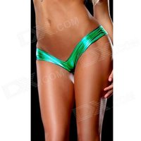womens-hot-sexy-metallic-spandex-panty-thong-lingerrie-underwear-green